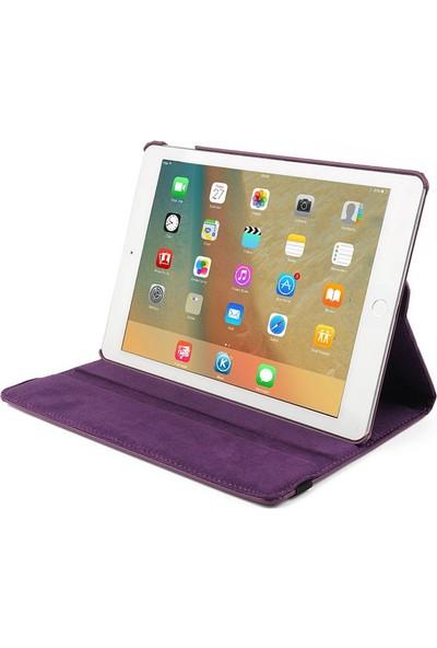 Microsonic Apple iPad Air 3 10.5'' 2019 (A2152-A2123-A2153-A2154) Kılıf 360 Rotating Stand Deri Siyah