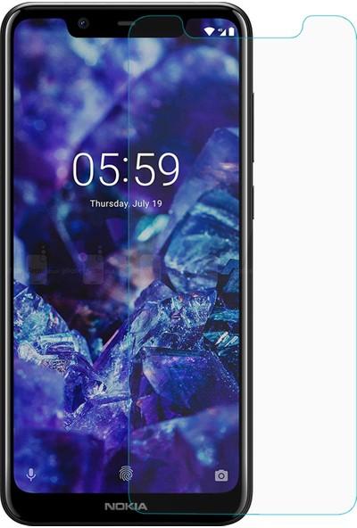 Microsonic Nokia 5.1 Plus Temperli Cam Ekran Koruyucu