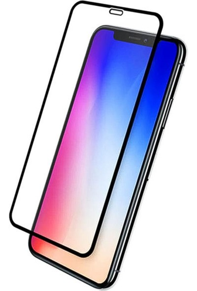 Semuse Apple iPhone X 9D Ekran Koruyucu