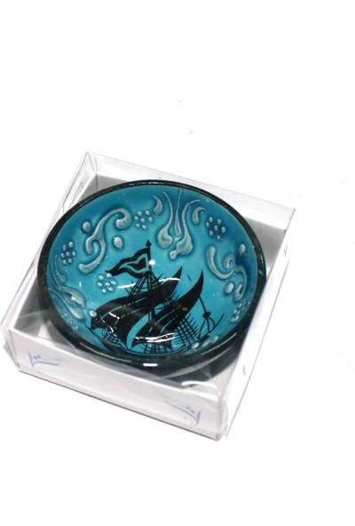 İlbay 8 cm Kutulu Çini Kase 01