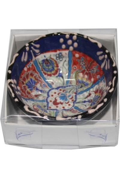İlbay 8 cm Kutulu Çini Kase 02