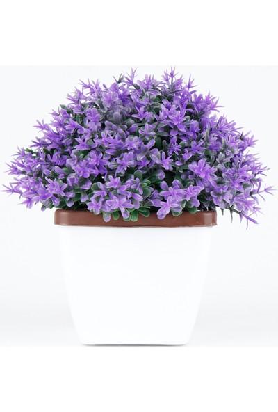 Bappay Mini Dekoratif Pıtırcık Masaüstü Yapay Çiçek