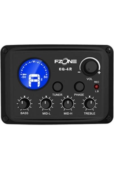 Fzone Fishman 4 Band Eq Tuner USB