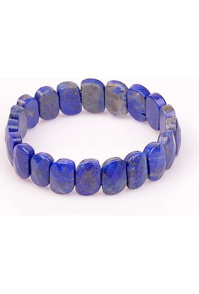 Taş Sandığı Lapis Lazuli Taşı Bileklik