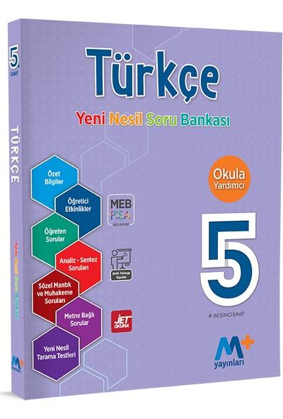 Martı Okul 5. Sınıf Türkçe Yeni Nesil Soru Bankası