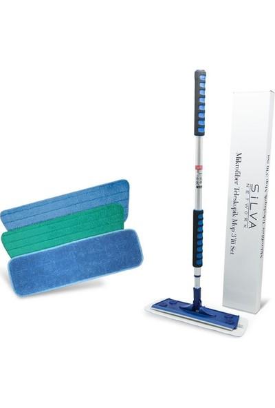 Silva Mikrofiber Mop Üçlü Set 10'lu Paket