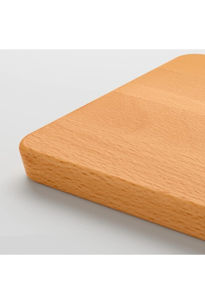 Ikea Proppmatt Masi̇f Ahşap Kesme Tahtası - 15 x 30 cm