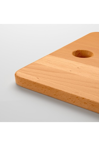 Ikea Proppmatt Masi̇f Ahşap Kesme Tahtası - 28 x 45 cm