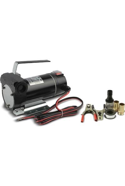 Staxx Power 12V Dıştan Çıkışlı Alüminyum Gövde Sıvı Transfer Pompası Mazot Aktarma