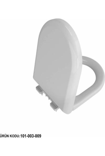 VitrA Universal Turkuaz Soft Klozet Kapağı Beyaz (101-003-009)