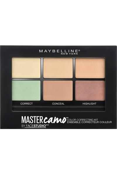 Maybelline New York Master Camo Palette Renk Eşitleyici Kit