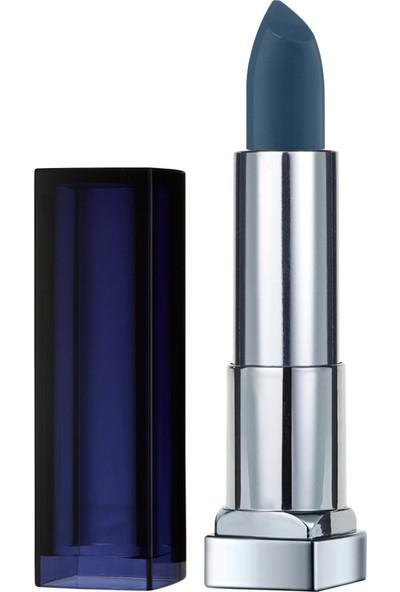 Maybelline New York Color Sensational Loaded Bolds Ruj - 892 Midnight Blue - Mavi