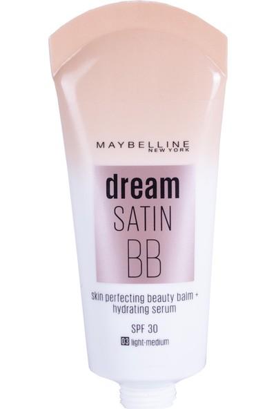Maybelline New York Dream Satin BB - 03 Açık-Orta Ton