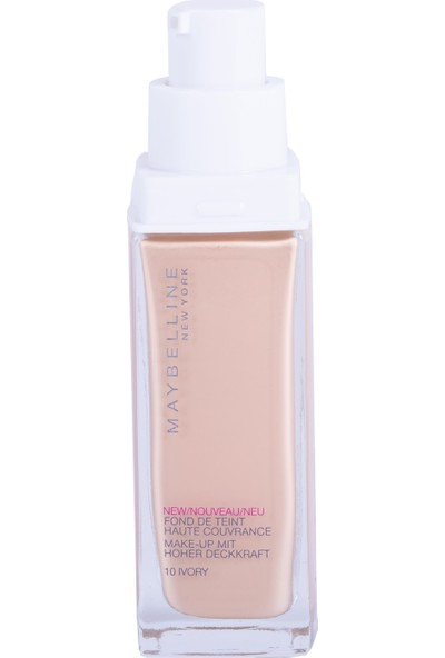 Maybelline New York Superstay 24H Fondöten - 10 Ivory
