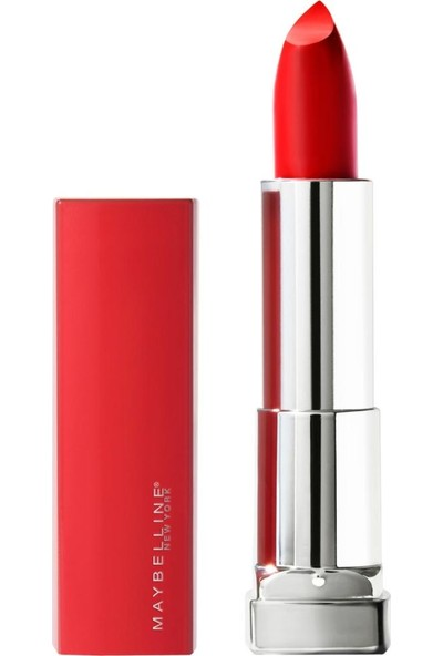 Maybelline New York Color Sensational Made For All Ruj - 382 Red For Me (Mat Kırmızı)