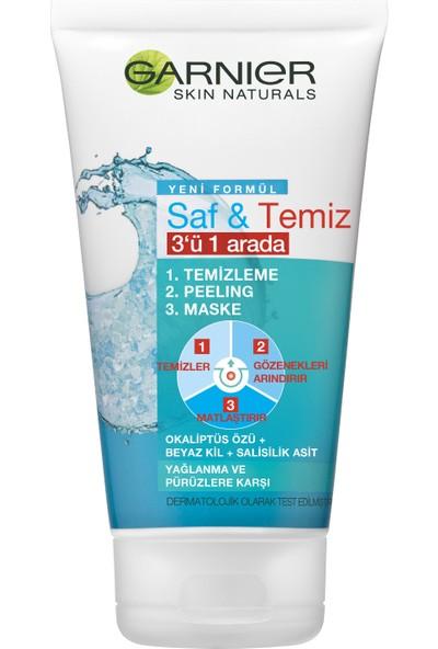 Garnier Saf & Temiz 3ü 1 Arada 150ML
