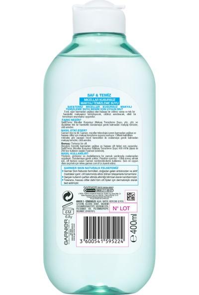 Garnier Saf & Temiz Micellar Kusursuz Makyaj Temizleme Suyu 400ML