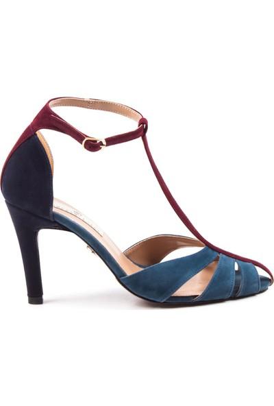 Gökhan Talay Princess Mavi Topuklu Ayakkabı