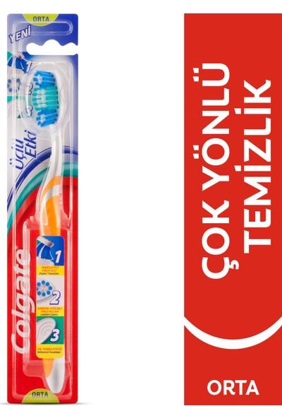 Colgate Üçlü Etki Diş Fırçası Orta