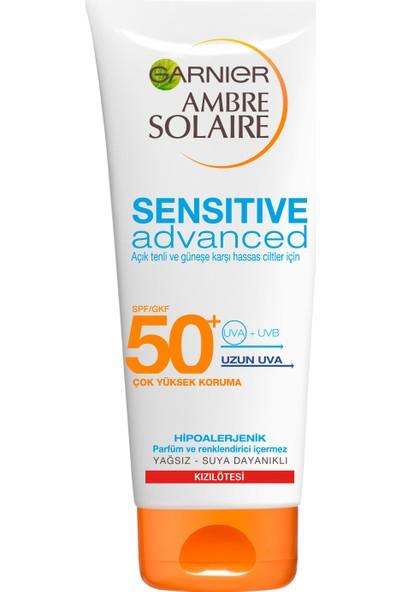 Garnier Ambre Solaire Sensitive Advanced Koruyucu Süt GKF50+ 200ML