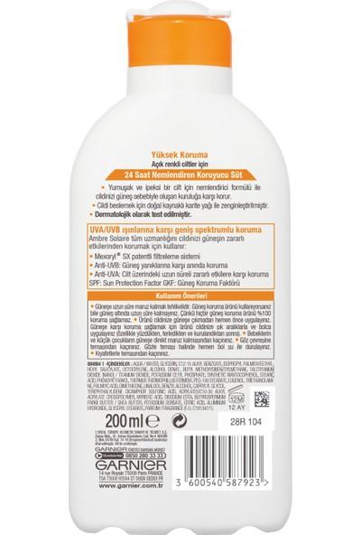 Garnier Ambre Solaire Koruyucu Süt GKF30 200ML