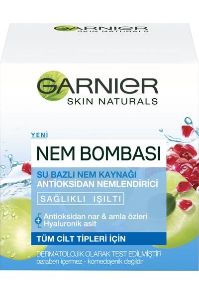 Garnier Nem Bombası Su Bazlı Nem Kaynağı Antioksidan Nemlendirici 50ML