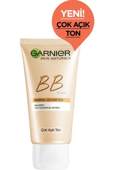 Garnier BB Krem Mucizevi Cilt Kusursuzlaştırıcı Çok Açık Ton 50ML