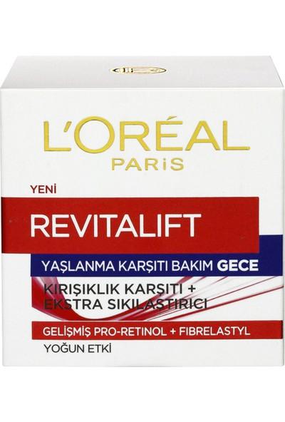 L'Oréal Paris Revitalift Yaşlanma Karşıtı Gece Bakım Kremi