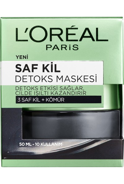 L'Oréal Paris Saf Kil Detoks Maskesi 50 ml
