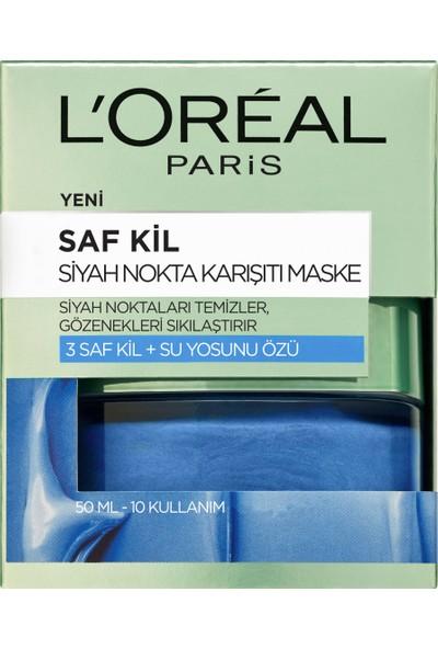 L'Oréal Paris Saf Kil Siyah Nokta Karşıtı Maske