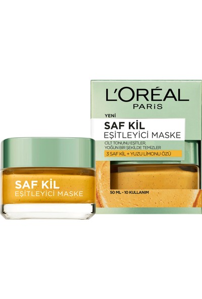 L'Oréal Paris Saf Kil Eşitleyici Maske