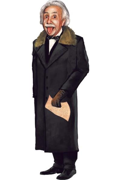 Albert Einstein - Lazer Kesim Ayraç