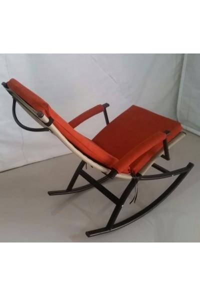 Depolife Sallanır berjer koltuk Sallanan Bahçe şezlong sandalye