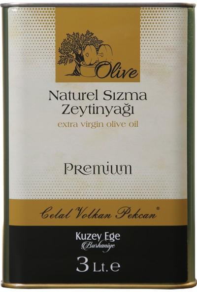 Celal Volkan Pekcan Natürel Sızma Zeytinyağı 3lt Premium