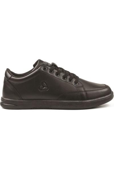 Letoon Siyah-Siyah 6057 (4010) Merdane Spor Ayakkabı