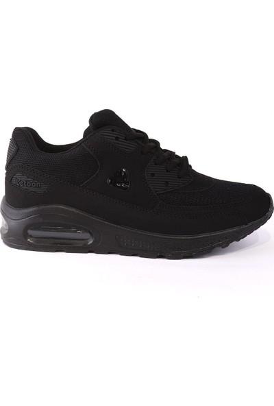 Letoon Siyah Siyah 3103Y Garson Spor Ayakkabı