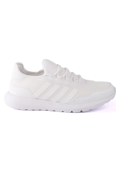 Letoon Beyaz Brezılya 6022 Erkek Spor Ayakkabı