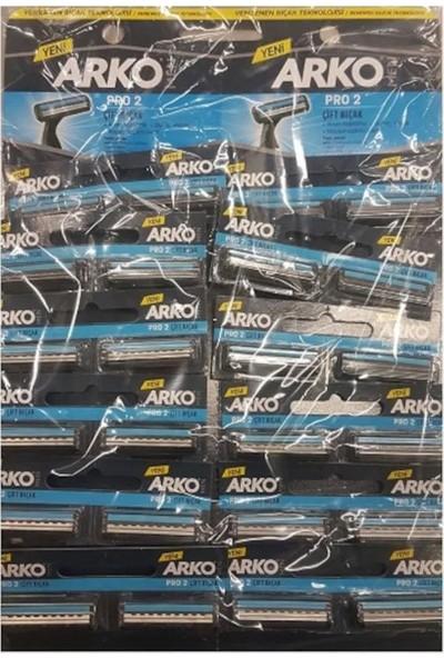 Arko Men Traş Bıçağı T2 Pro Kartela 24'lü