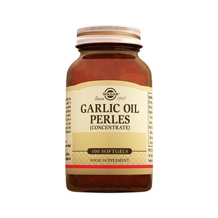 Solgar Garlic Oil Perles 100 Kapsül. ‹ ›