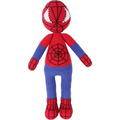 Spider-Man (Örümcek Adam) Amigurumi Organik Oyuncak | 500x500