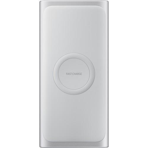 Samsung Kablosuz Hızlı Şarj Aleti (Gümüş) EB-U1200CSEGWW