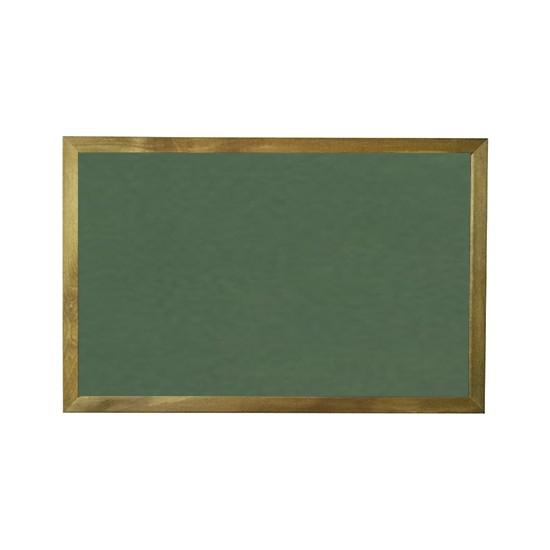 Vivekka 40X60 Duvara Monte Ahşap Çerçeve Laminat Yeşil Yazı Tahtası