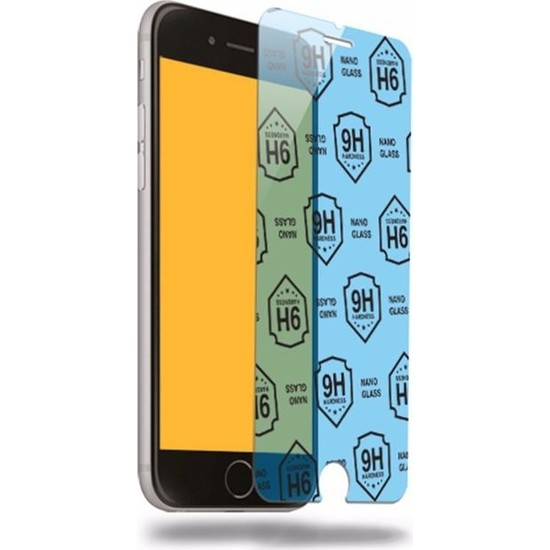 Etech Vestel Venüs E3/LG Q6 Blue Nano Glass Ekran Koruyucu
