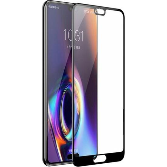 Dafoni Huawei P20 Pro Curve Nano Glass Premium Cam Siyah Ekran Koruyucu