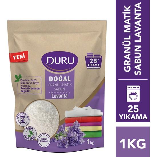 Duru Doğal Granül Matik Sabun Lavanta 1 kg 25 Yıkama