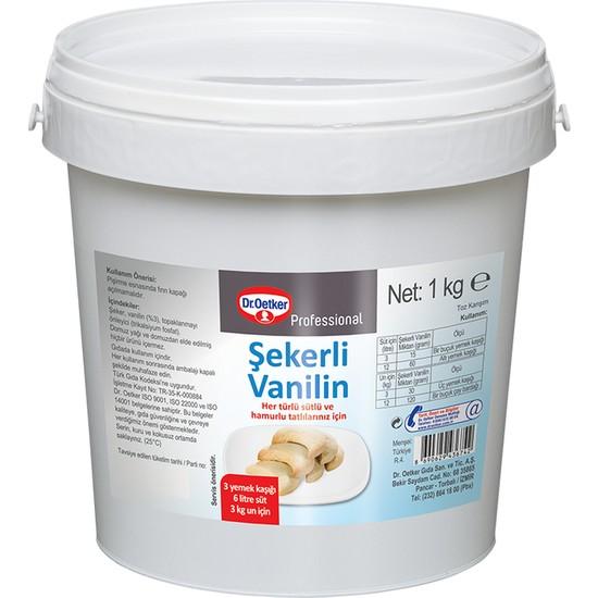 Dr.Oetker Şekerli Vanilin 1 kg