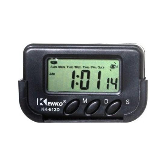 Kenko KK613D Kronometre & Dijital Alarmlı Masa ve Araba Saati