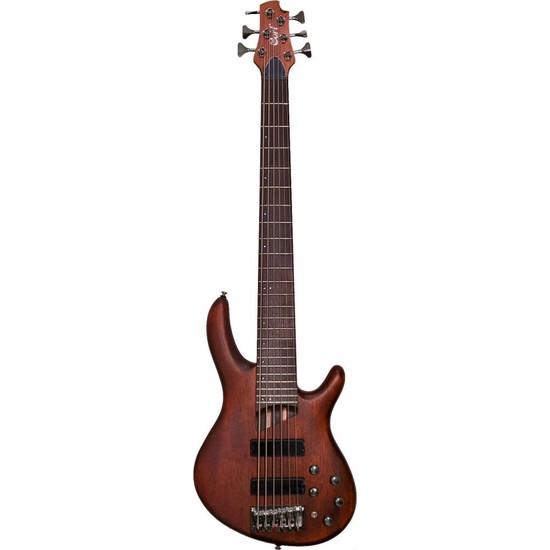 Cort B6 Plus Mh Opm Bas Gitar / Kılıf+Askı+Ara Kablo