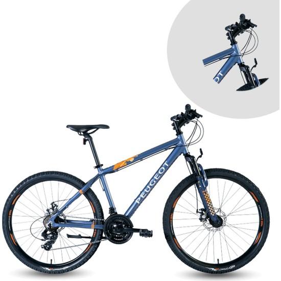 Peugeot M17 380H 26 Jant Bisiklet 21 Vites Erkek Dağ Bisikleti Mavi