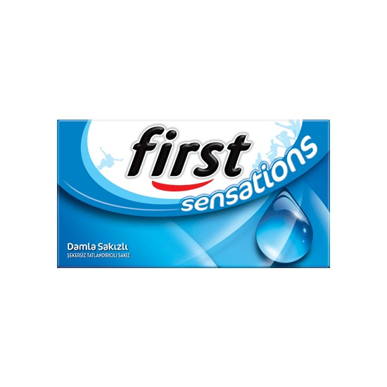 First Sensations Damla Sakızı Aromalı 12 Paket 27 gr
